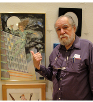 John Fantucchio exhibits a painting in Glen Echo MD in Sept 2010