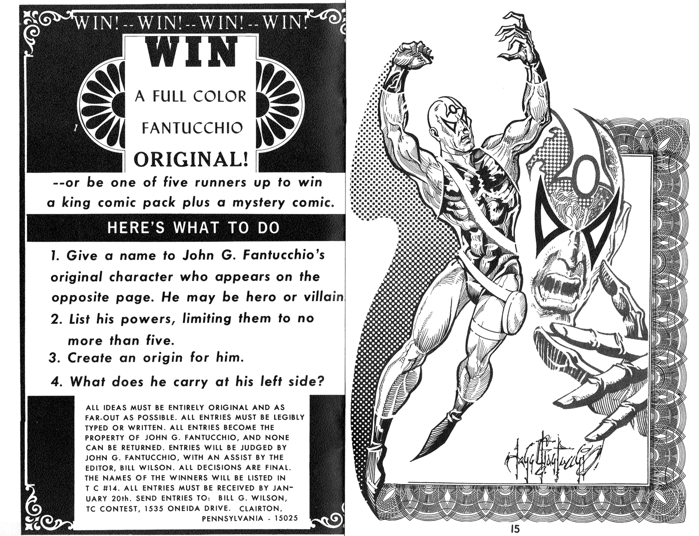 Win a Fantucchio Painting Contest in The Collector #13!